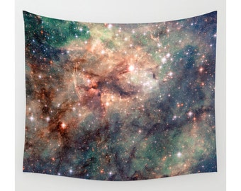Wall Tapestry, Space Tapestry, Wall Hanging,Galaxy Nebula Stars Sky, Space Wall Art, Large Photo Wall Art, Modern Tapestry, Home Decor