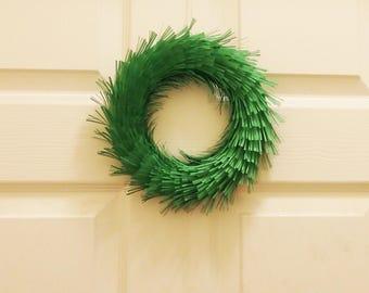 Indoor Paper Grass Wreath/ Crown