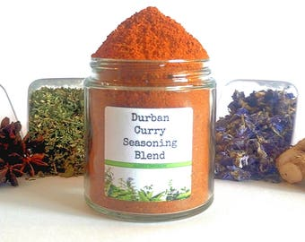 Durban Curry/Curry Powder/Bunny Chow/Food Gift/Seasoning Blends/Spice Rack/Gifts For Foodies/Foodie Gift/Seasonings Gifts/Chef Gift