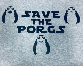 Save the Porgs Shirt