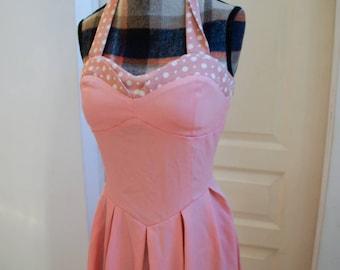 Vintage dress 50's Halter M style