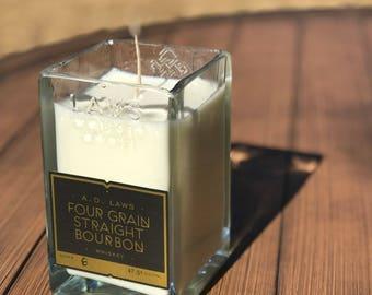 AD Laws Four Grain Bourbon Candle