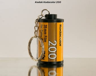 35mm Film Roll Keychain