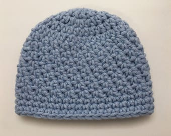 Premie Hats, NICU Baby Gift, Preemie Baby Boy Hat, Preemie Hospital Gift, NICU Photo Prop, Crochet Preemie Hat, Reborn Preemie Hat, Preterm