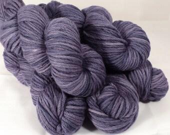 Alpaca/Merino ( 50/50) -worsted- Naturally Dyed Yarn- 100 g. -Logwood