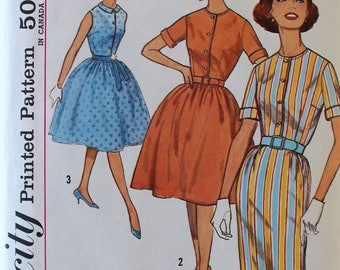 Vintage Sewing Pattern - 1960s Dress Pattern - Simplicity 4426