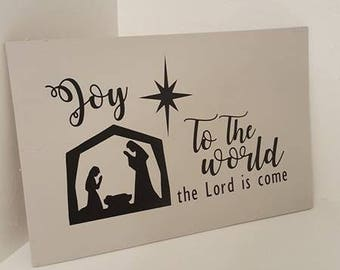 Joy To The World Holiday Decor