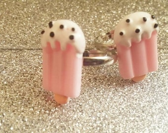 Strawberry Ice Cream Kawaii Ring