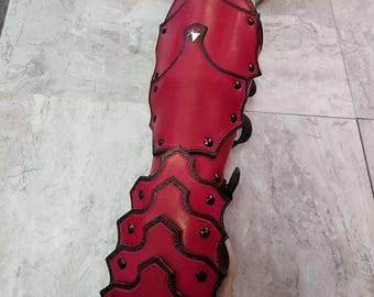Leather Armor Gothic Gauntlets