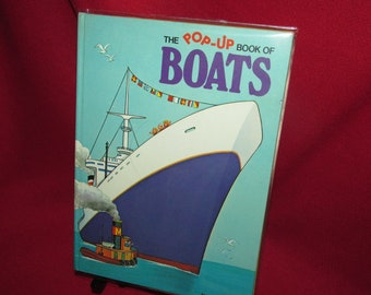 The POP UP Book of BOATS by Albert Miller