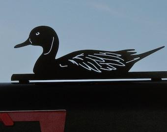 Duck Mailbox Topper, Mallard Mailbox Topper, Duck Mailbox, Farmhouse Mailbox Topper, duck sign, mallard duck, wetland rescue, lake sign