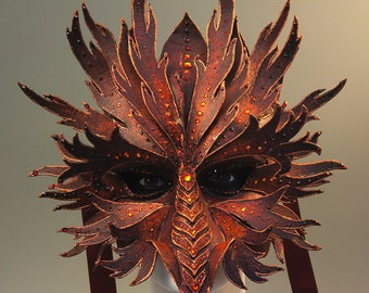 Crimson Dragon Mask