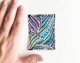 Original Small Abstract Art Work