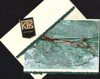 KTB Marbled Card (Green+)
