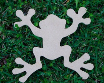 Tree Frog Mosaic Base or Craft Shape Mdf Wood Cut out