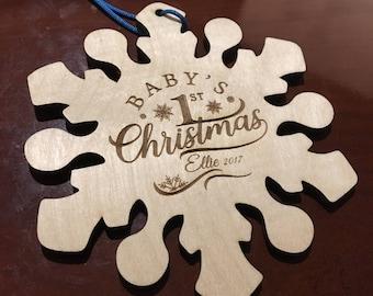 Christmas Ornament - Baby 1st Christmas