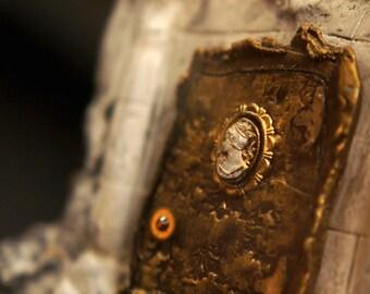 Fairy Door: PALAZZO INGRESSO. Faerie Dream Door Sculpture by Fae Factory Artist Dr Franky Dolan (Original Fine Art Fairy Door spiritual art)