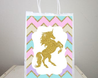 Unicorn Goody Bags, Unicorn Party Bags, Unicorn Favor Bags, Unicorn Party, Unicorn Birthday