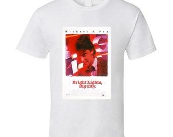 Bright Lights, Big City Best 80s Movie T Shirt