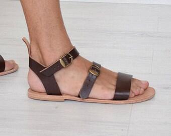 Sandale En Caoutchouc Veau Italien Eva Patron Unique VdYKmTLo
