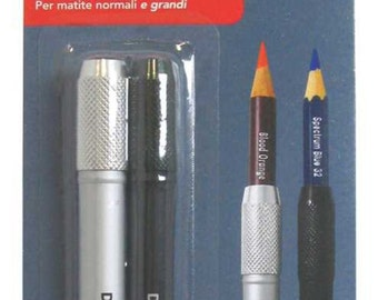 Derwent Pencil Extender Set For Pencils up to 8mm, 2 Pack