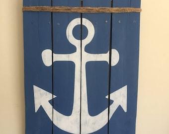 Pallet Anchor Sign