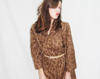 Women's  Vintage Dress.Vintage Dress.Dresses.Women's Dress.Women's Dresses.Womens Dress.Vintage.women Clothing.Sale.Size M-L