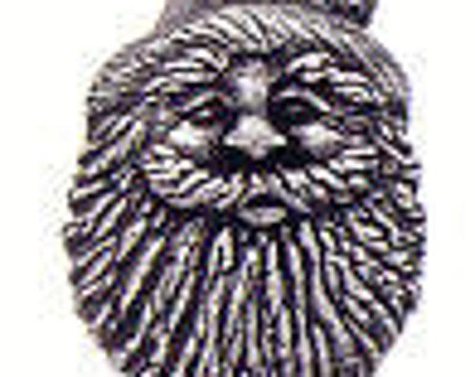 Santa Claus Danforth pewter  shank button