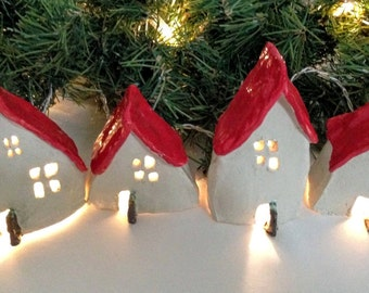 Red Roof Christmas Village