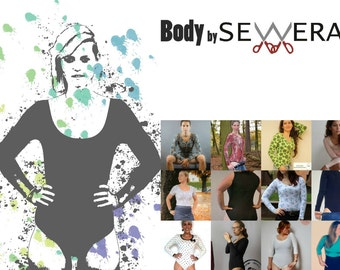 Body Schnittmuster & Anleitung by Sewera