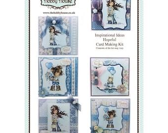 LAST ONE!   Wee Hopeful Card Making Kit - Make 6 unique cards