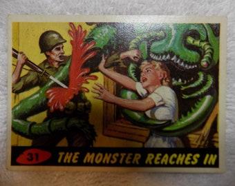 Mars Attacks Original #31 - The Monster Reaches In - VG
