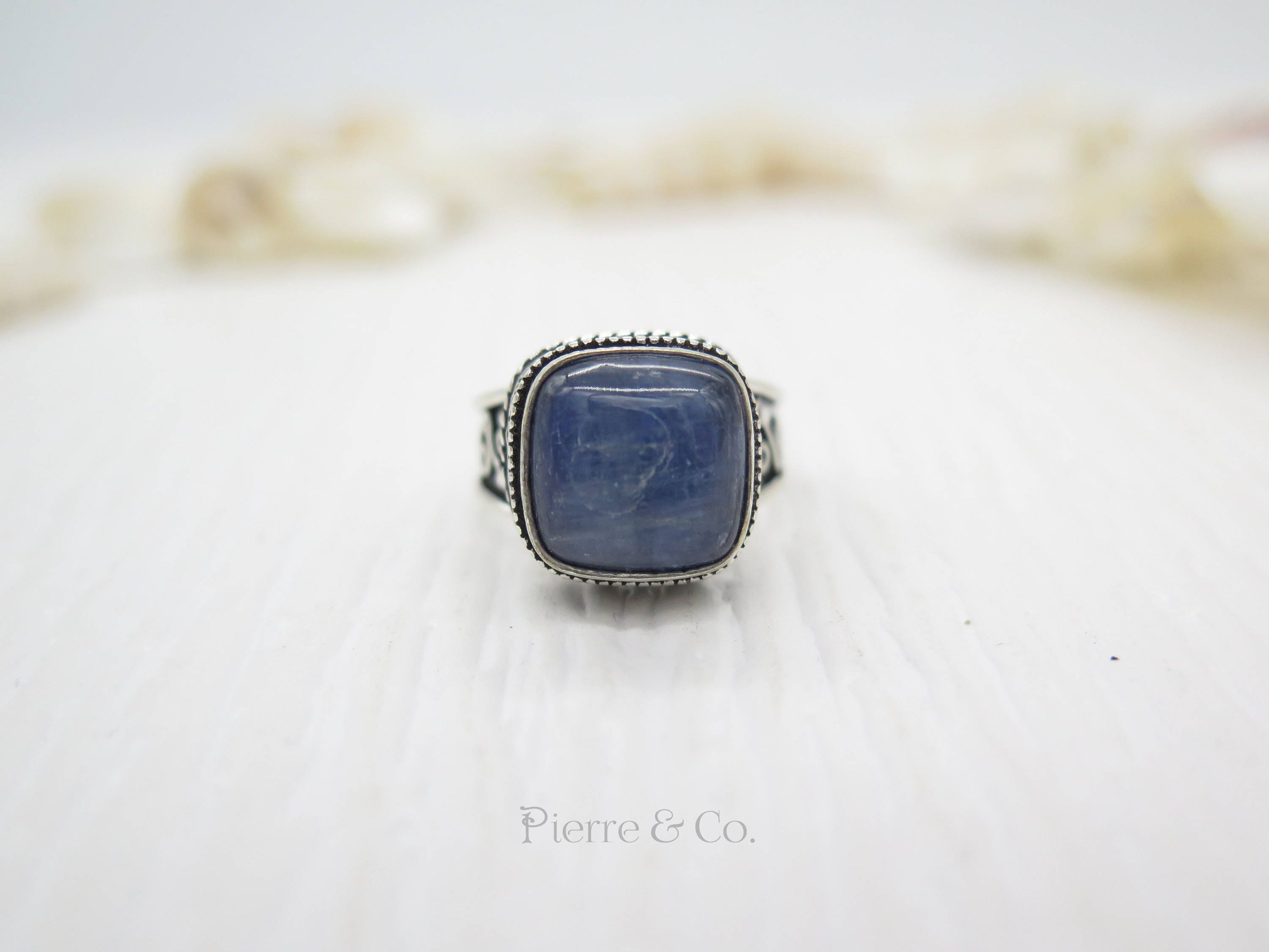 jewel and ring kyanite rings bohemian pin silver