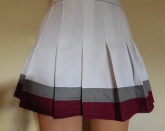 Kelly Kapowski TV Program Cheerleader Uniform Fancy Skirt Cosplay Costume