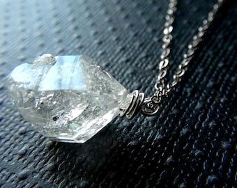 Herkimer Diamond Quartz Necklace