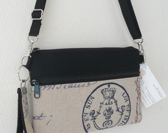 Bitsy Bag, clutch, wristlet, removable strap, cell phone, electronic, purse