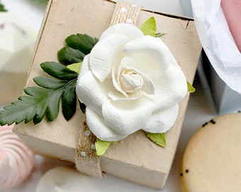 """25 Plantable Seed Paper Boxes - Wedding Favors -Party Favors - Baby Showers - Wildflowers - Your Color Choice - 2.67"""" - Biodegradable"""