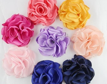 Fabric Flowers , You Choose Colors ,Diy Headband Supplies H100016