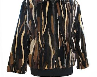 Shaved mink Jacket