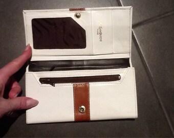 Vintage YVES SAINT LAURENT leather purse wallet