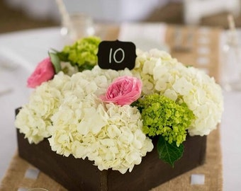 10x10 Wooden Flower Box
