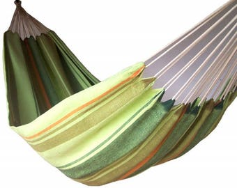 Green color simple handmade hammock