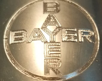 Vintage Collector BAYER Kirk Stieff Pewter Cup P50