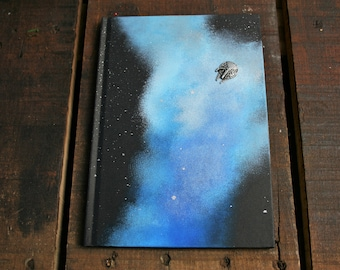 Star Wars Inspired LINED A5 Hand Painted Hardback Notebook/ Sketch Book/ Journal / Guest Book