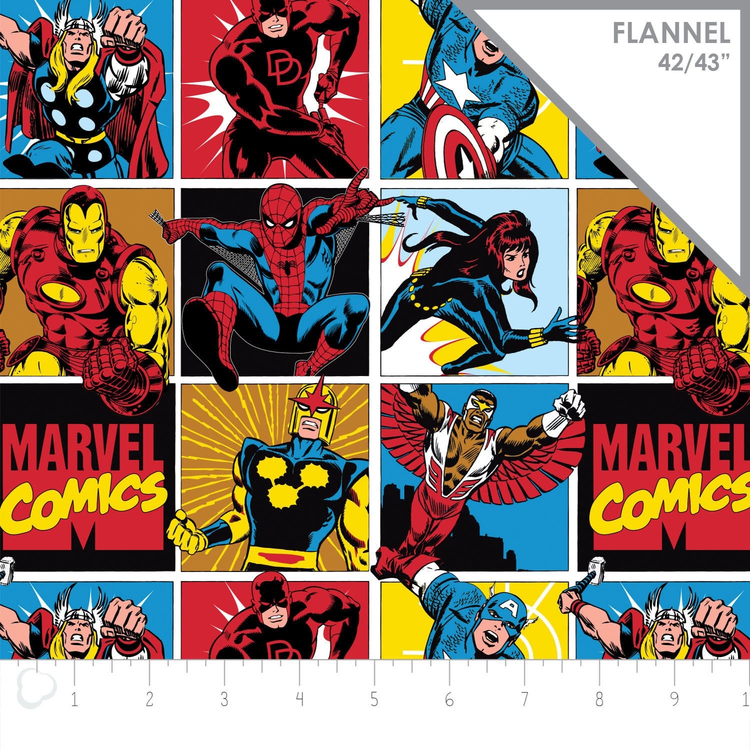 Marvel Fabric Avengers Fabric: NEW Marvel Comics Collection