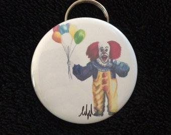 Pennywise the clown original art bottle opener