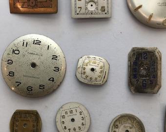 15 vintage watch faces, STEAMPUNK