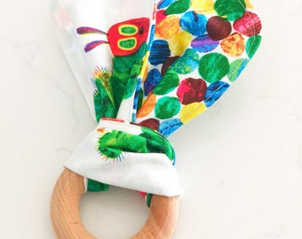 Hungry Caterpillar Wooden Teether