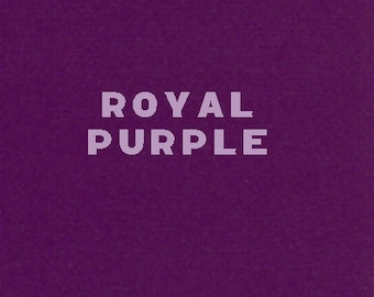 Transfer Foil - Royal Purple - Simple and Easy to Use