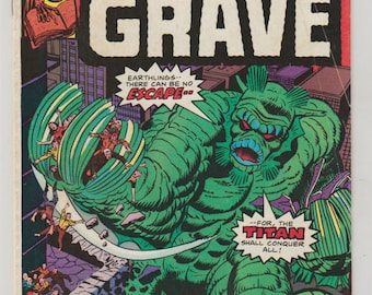 Uncanny Tales (From The Grave); Vol 2, 12, Bronze Age Horror Comic. FN+ (6.5). October 1975. Marvel Comics